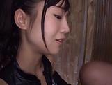 Hoshina Ai got fresh cum in mouth picture 14