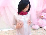 Naughty young Asian broad Mao Sena cosplay porn