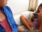 Kinky Japanese model Aika loves sucking hot wood picture 14