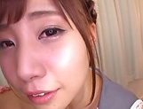 Teen Japanese babe sucks cock in perfect POV picture 11