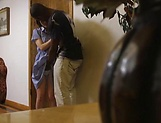 Sakura Kizuna excites in an interracial action picture 14