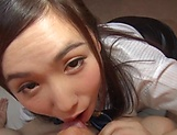 Sasakura is a smoking hot office lady picture 11