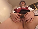Amateur sucks and fucks with two horny men picture 12