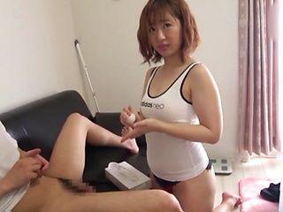 Naughty babe likes cocks so fucking much