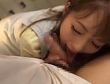 Yuu Asakura enjoys sucking that large wang