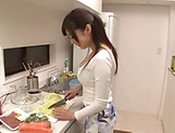 Sexy Fujii Arisa goes wild as she's toy teased POV picture 15