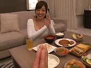 Sexy Fujii Arisa goes wild as she's toy teased POV