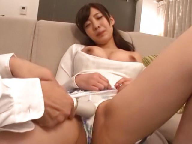 Sexy Fujii Arisa goes wild as she's toy teased POV