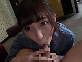 Sweet Japanese amateur chick is horny picture 12