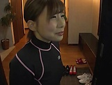 Hot blowjob cosplay for needy Rui Hasegawa