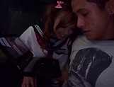 Schoolgirl fucked by hot teacher and made to swallow picture 14