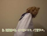 Schoolgirl shows her kinky skills