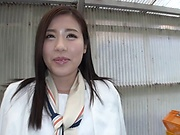 Oohinata Haruka featured in a hardcore event