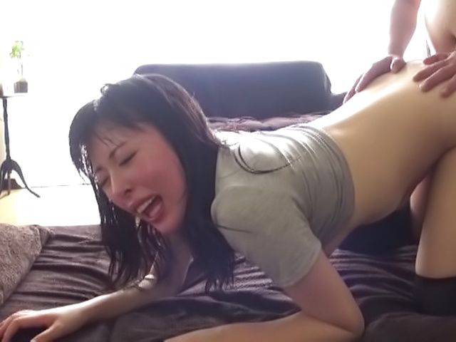 Gorgeous Kuroki Ikumi awesome pussy stimulation