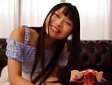 Amatuer Asian hottie Eri Natsume in raunchy indoors scene