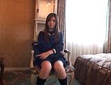 Adorable teen Ogata Runa enjoys hard pussy slamming