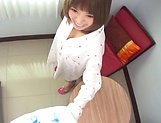 Hoshimi Rika ,puts her big tits to use picture 13