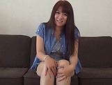 Asa Hikaede gets laid in a lovely threesome action
