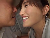 Ishimi Chiharu pleasured with an erotic fingering picture 11