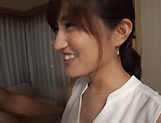 Ishimi Chiharu pleasured with an erotic fingering picture 15