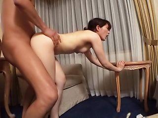 Ishimi Chiharu pleasured with an erotic fingering