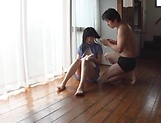 Sweetie Nagomi gets wild with lad on the floor picture 8