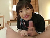 Natsuki Minami has nicely shaved pussy picture 15