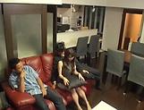 Katase Yui performs a pleasurable blowjob