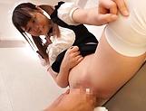 Hinagiku Tsubasa gets her wet cunt screwed by her boss