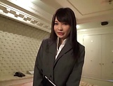 Juicy Japanese plays with cock in extra naughty POV
