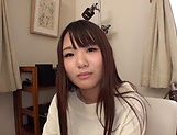 Kawaoto Kurumi, pleasures her horny self