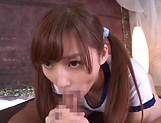 Teen love Aine Maria offers a sensational blowjob picture 31