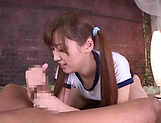 Teen love Aine Maria offers a sensational blowjob picture 46