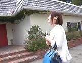 Sakura Kizuna shows her expertise in blowing sweet hard poles picture 11