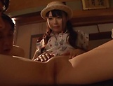 Cute Eri Natsume all alone fingering herself well picture 11