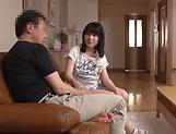 Hardcore minx Aika Rino penetrated and gets facial