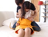 Hot milf Shirose Mio in raunchy blowjob scene indoors picture 13