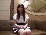 Amateur Asian vixen gets her big teased teased with  indoors