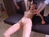 Milf beauty Saryuu Usui enjoys fisting in threesome picture 13