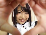 Cute teen Ishigami Satomi in hardcore pounding session