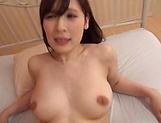 Voluptuous Japanese milf Kaise Anju swallows a big load of cum picture 133