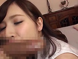 Voluptuous Japanese milf Kaise Anju swallows a big load of cum picture 19