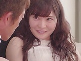 Busty stunner Satsuki Towa gets her pink pussy creampied picture 15