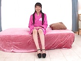 Japanese teen brunette loves threesomes picture 11