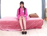 Japanese teen brunette loves threesomes picture 12