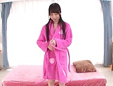 Japanese teen brunette loves threesomes picture 15
