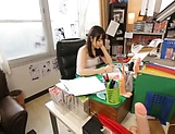 Small-tittied Asian beauty Ootori Kaname fucked in all positions picture 13