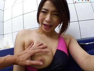 Hot Japanese amateur gives insane POV blowjob