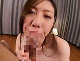 Hot milf got a massive facial cumshot picture 41