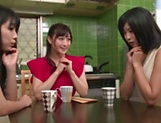 Hot Japanese ladies want a mfff foursome